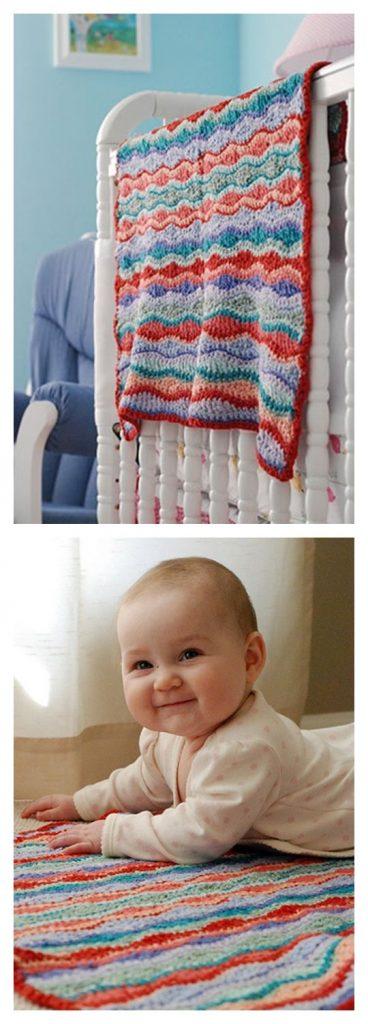 Gecko Blanket Free Crochet Pattern
