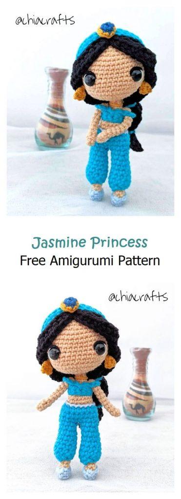 Jasmine Princess Free Amigurumi Pattern
