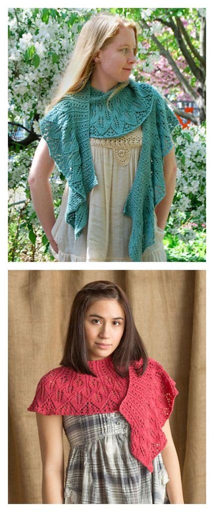 Kudzu Shawl Free Knitting Pattern