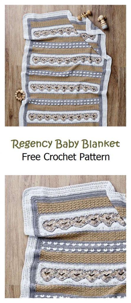 Regency Baby Blanket Free Crochet Pattern