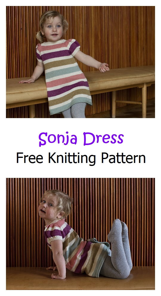 Sonja Dress Free Knitting Pattern