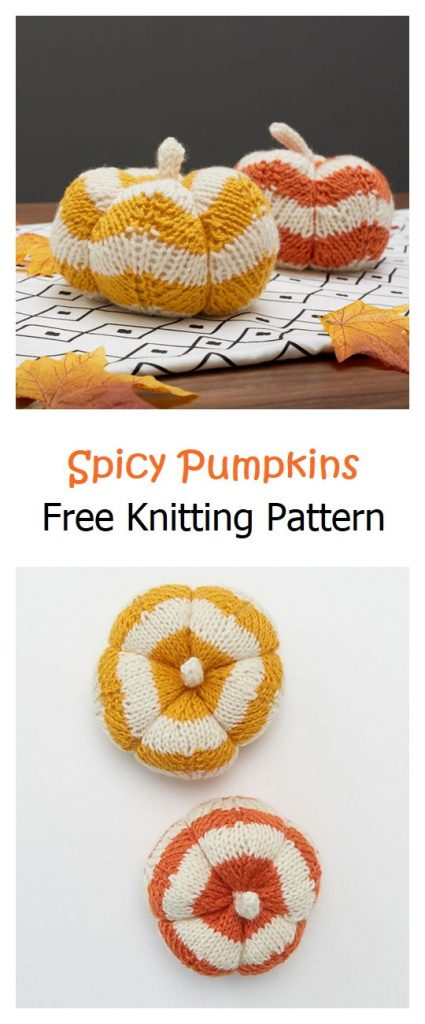 Spicy Pumpkins Free Knitting Pattern