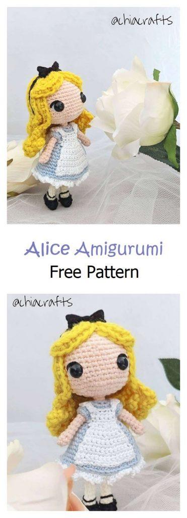 Alice Free Amigurumi Pattern