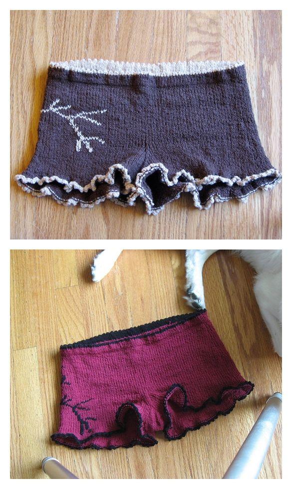 Assets of Evo Short Free Knitting Pattern - Knitting Projects
