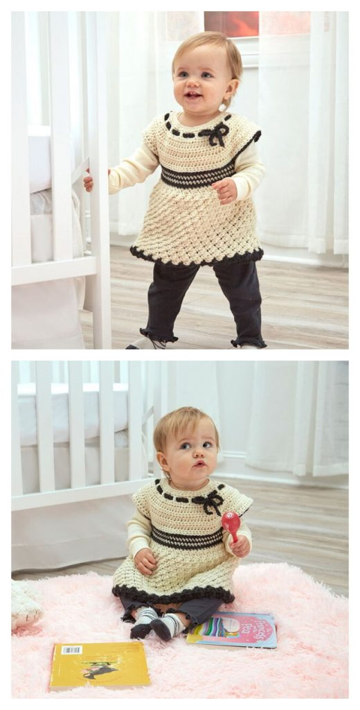 Baby's Special Tunic Free Crochet Pattern