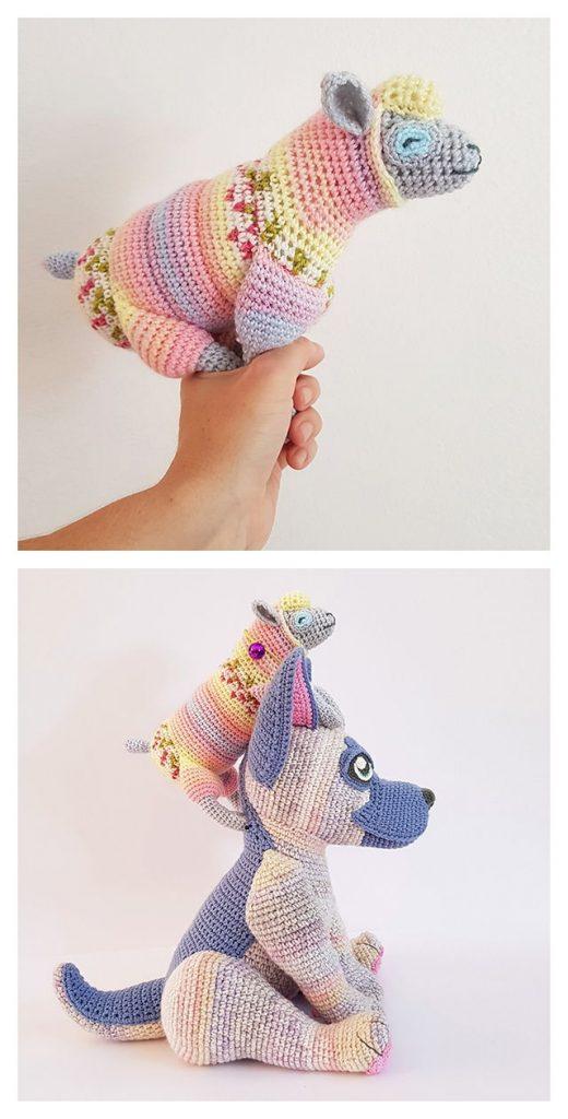 Buzz's Toy Sheep Free Crochet Pattern