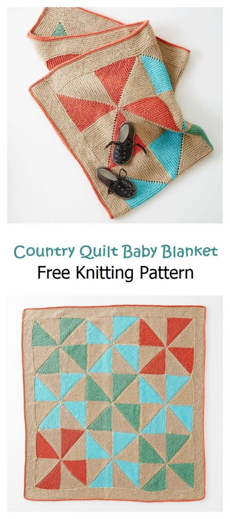 Country Quilt Baby Blanket Pattern