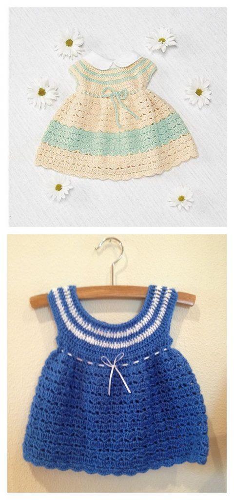 Easter Dress Free Crochet Pattern
