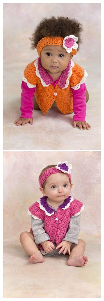 Flower Petal Sweater & Headband Pattern