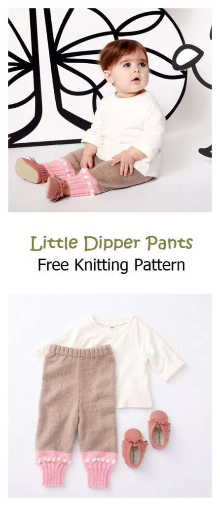 Little Dipper Pants Free Knitting Pattern
