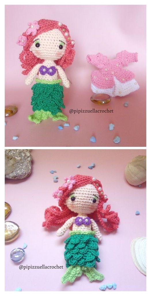Little Mermaid Free Amigurumi Pattern