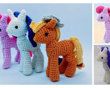My little Pony Crochet Pattern! by YenaYarn on DeviantArt   297x370