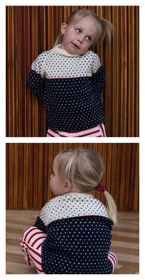 Lotte Pullover Free Knitting Pattern