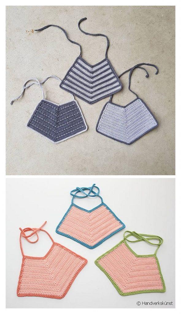 Maia's Bib Free Crochet Pattern