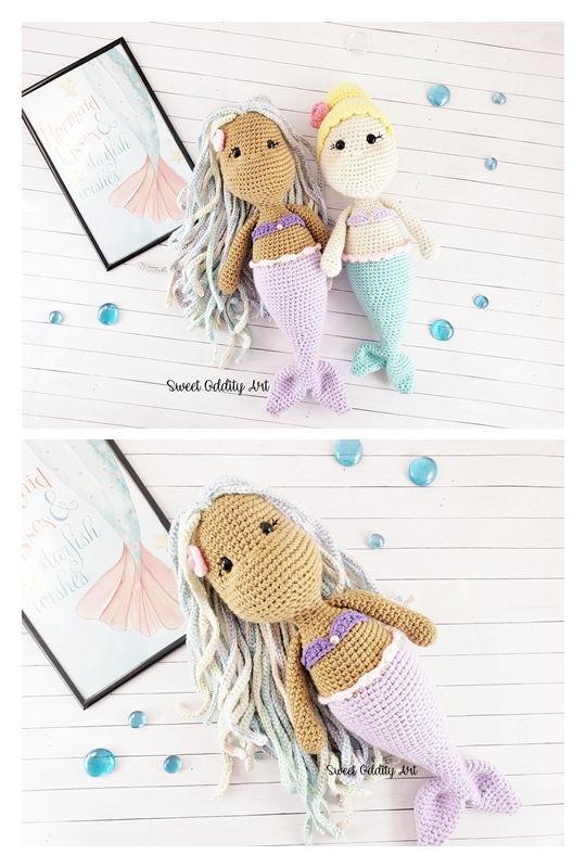 Mermaid Free Amigurumi Pattern