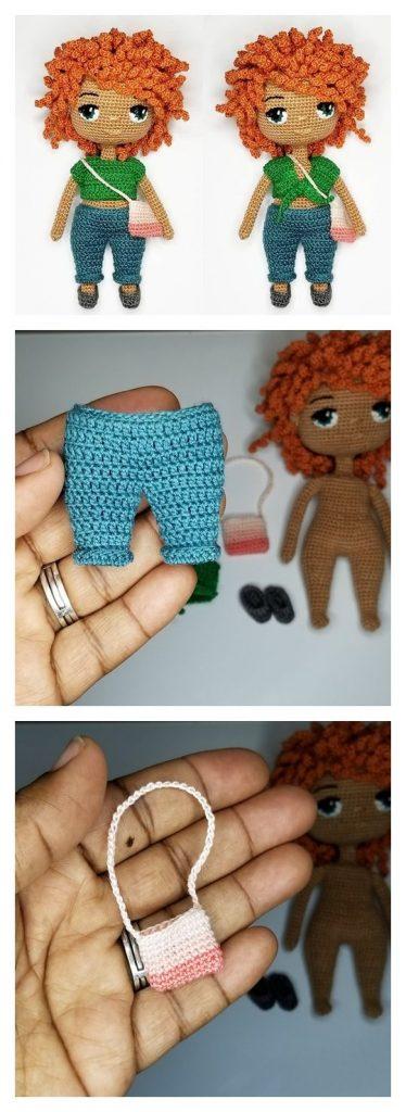Mini Doll Outfit Free Crochet Pattern