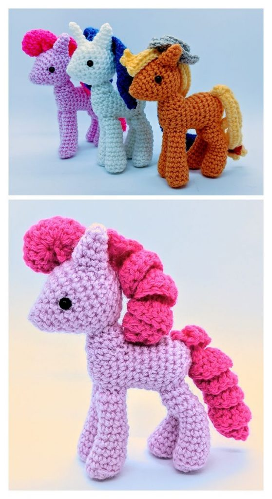 My Little Pony Toys Pattern
