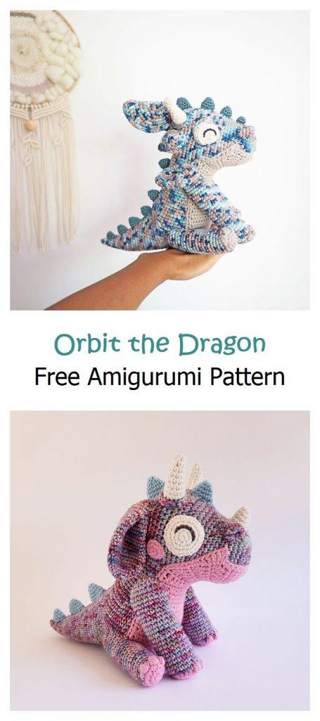 Orbit the Dragon Free Amigurumi Pattern