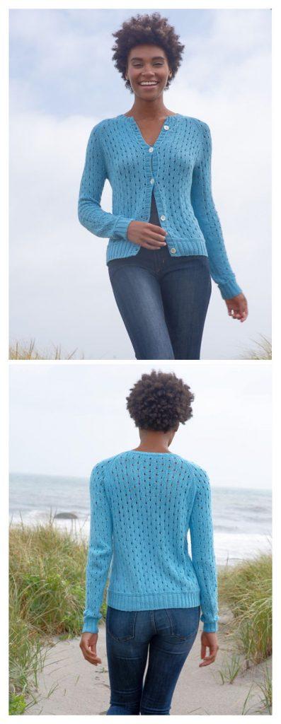 Porcia Cardigan Free Knitting Pattern