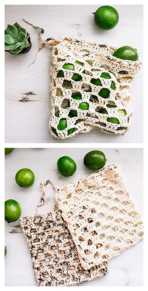 The Terra Produce Bag Free Crochet Pattern