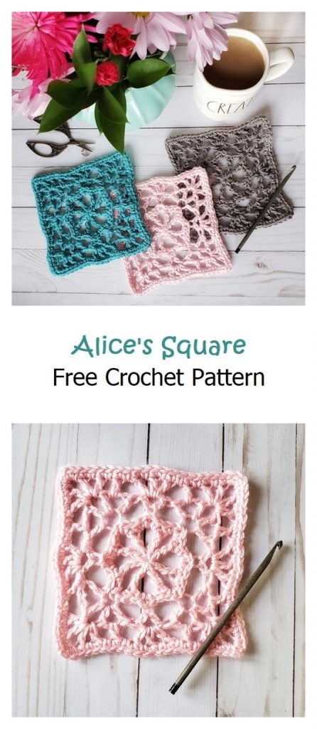 Alice's Square Free Crochet Pattern
