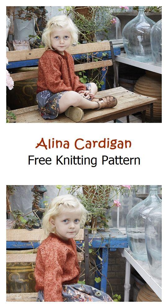 Alina Cardigan Free Knitting Pattern