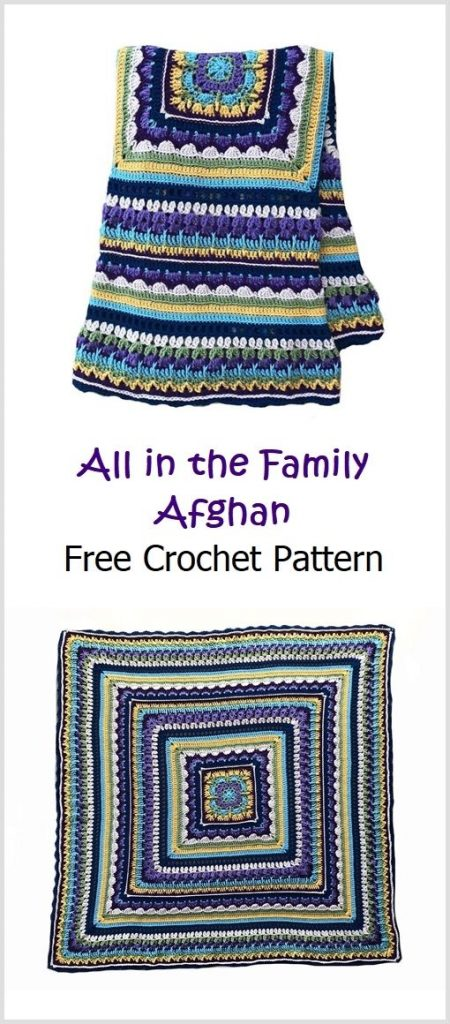 All in the Family Afghan Pattern