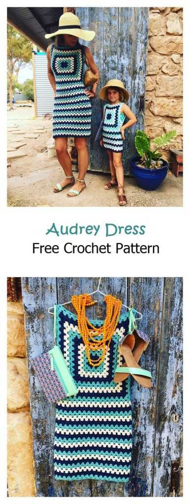 Audrey Dress Free Crochet Pattern