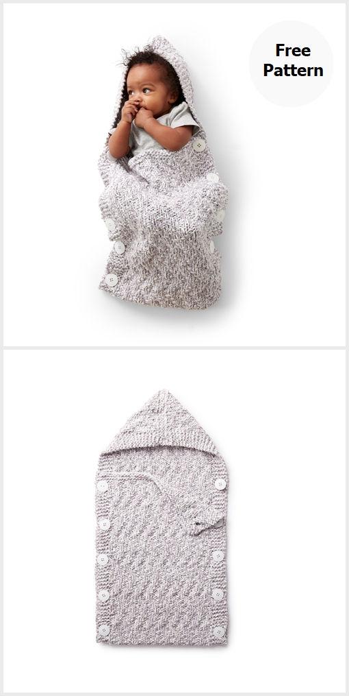 Bunting Bag Free Knitting Pattern