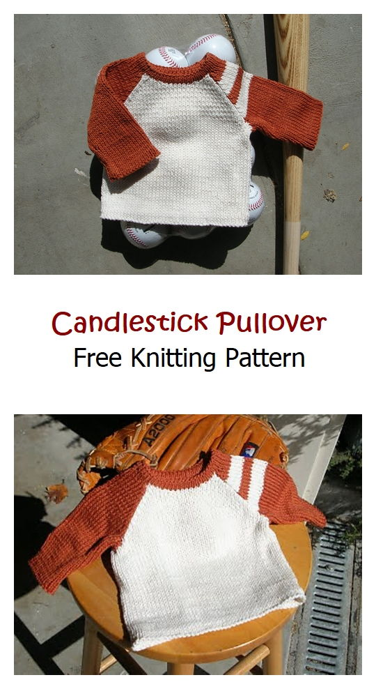 Candlestick Pullover Free Knitting Pattern