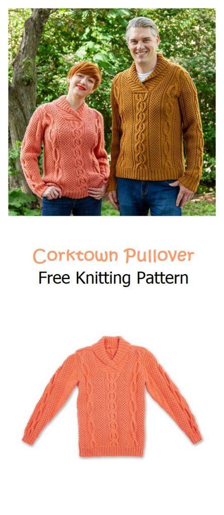 Corktown Pullover Free Knitting Pattern