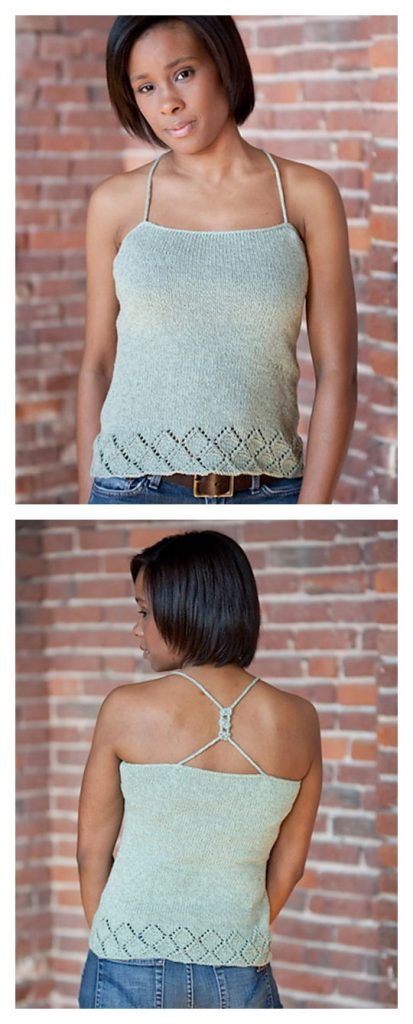 Cricket Tank Free Knitting Pattern