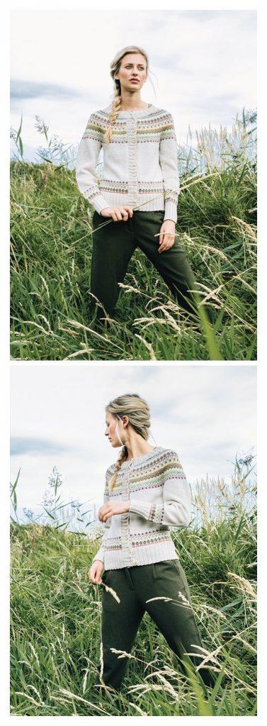 JAKKE Cardigan Free Knitting Pattern