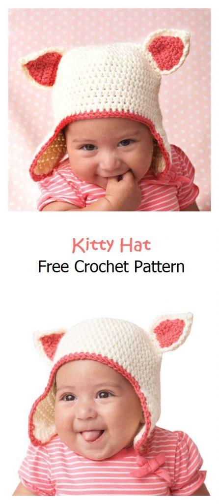 Kitty Hat Free Crochet Pattern