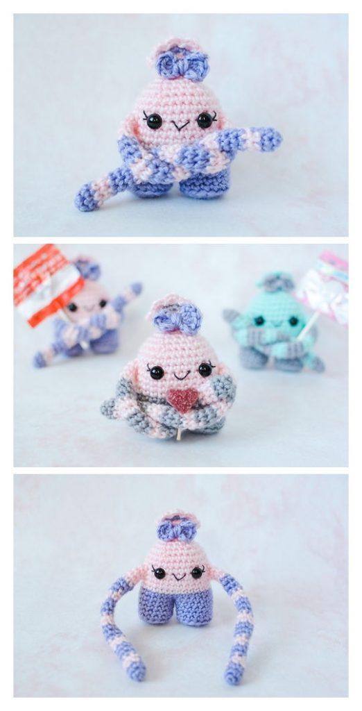 Mini Monster Free Amigurumi Pattern