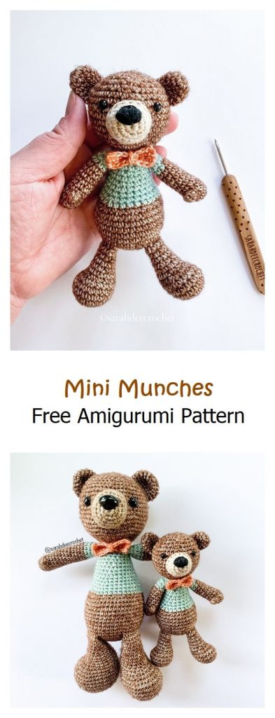 Mini Munches Free Amigurumi Pattern