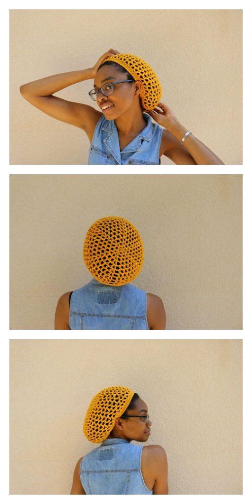 Orion Mesh Beanie Free Crochet Pattern