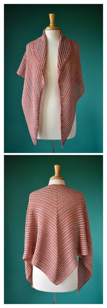 Piquilla Shawl Free Crochet Pattern