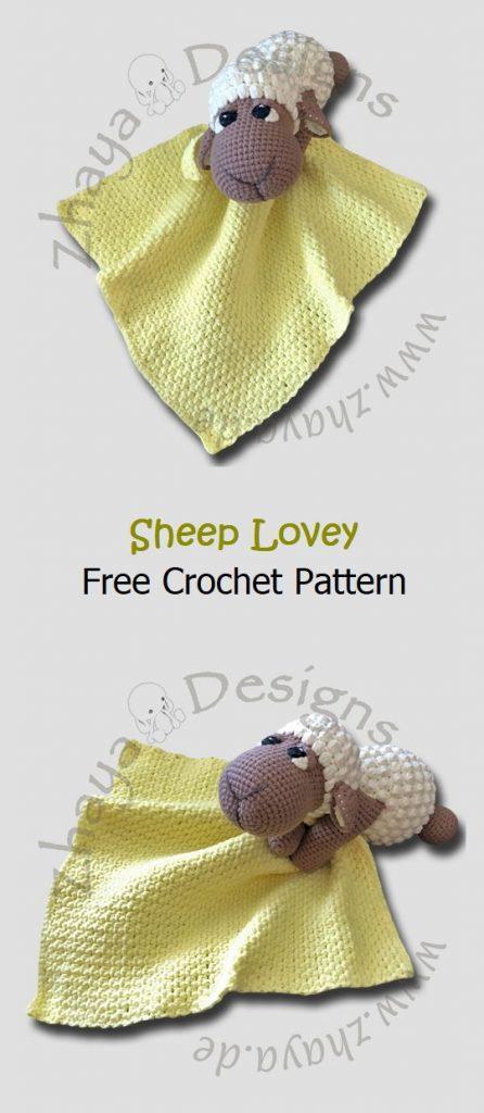 Sheep Lovey Free Crochet Pattern
