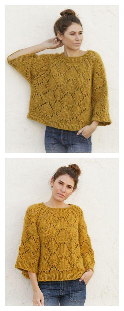 Summer Shells Free Knitting Pattern