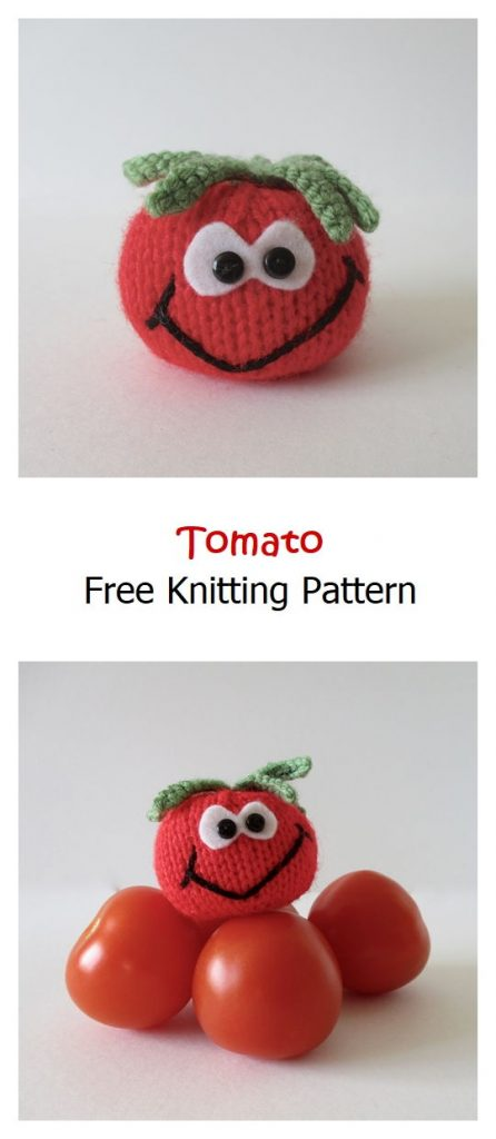 Tomato Free Knitting Pattern