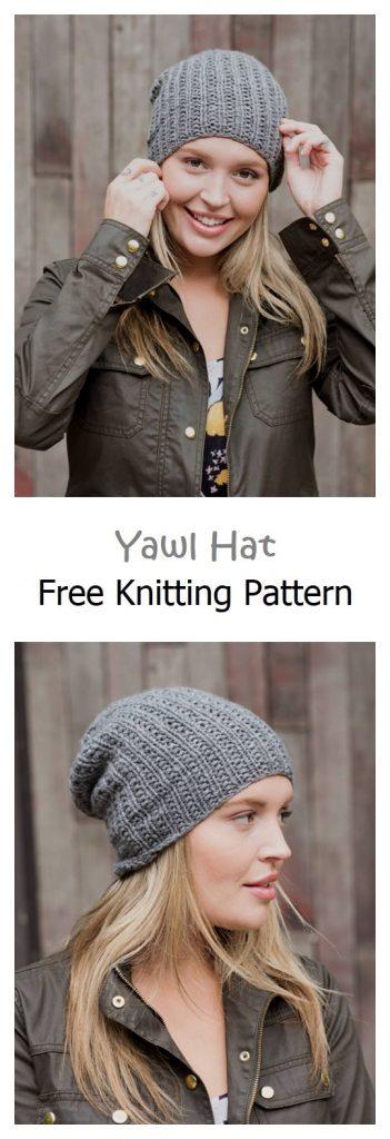 Yawl Hat Free Knitting Pattern