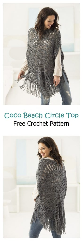 Coco Beach Circle Top Pattern