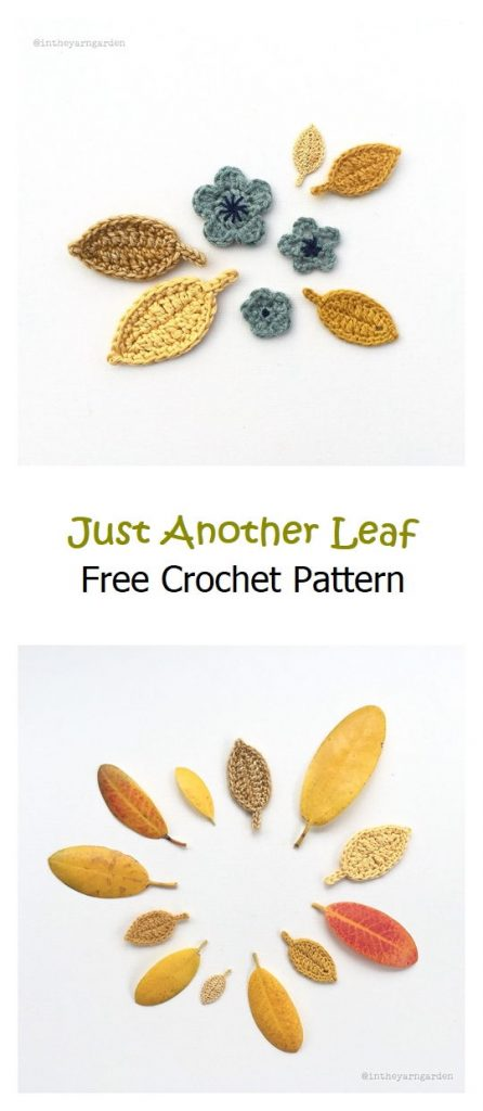 Just Another Leaf Free Crochet Pattern