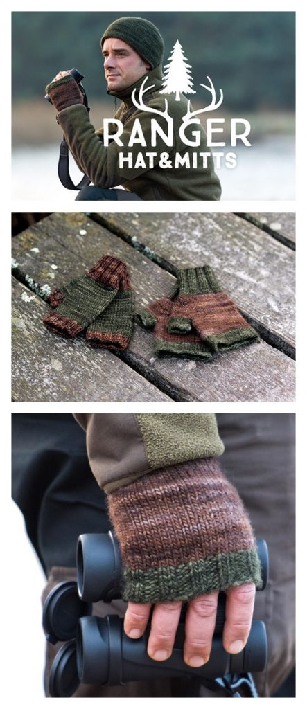 Ranger Hat and Mitts Pattern