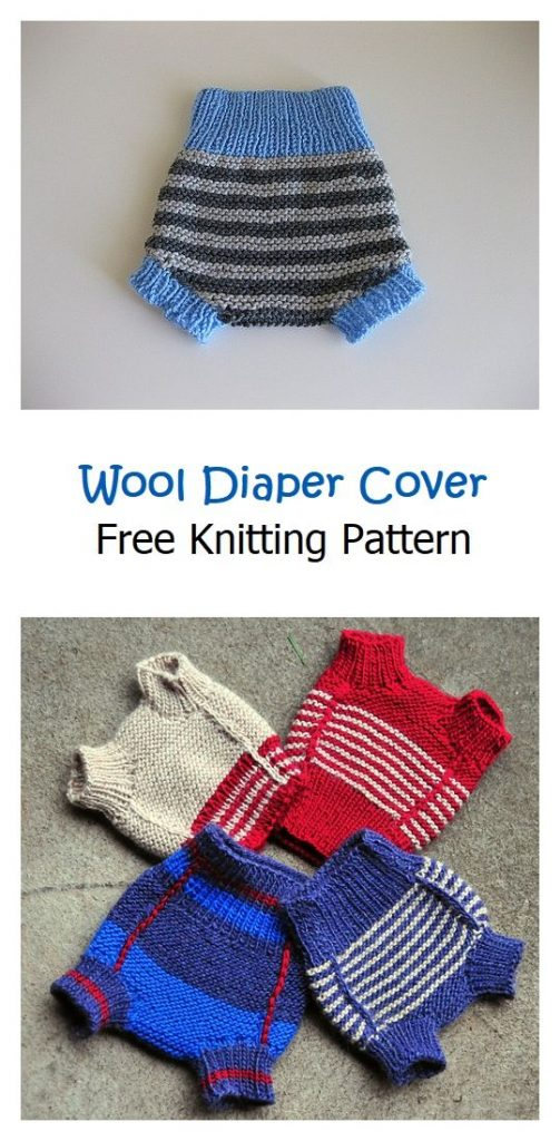 Wool Diaper Cover Free Knitting Pattern - Knitting Projects