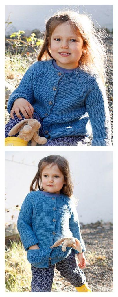 Autumn Smiles Cardigan Free Knitting Pattern