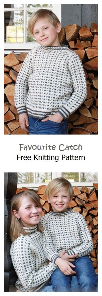 Favourite Catch Pullover Free Knitting Pattern