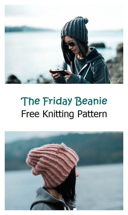 The Friday Beanie Free Knitting Pattern