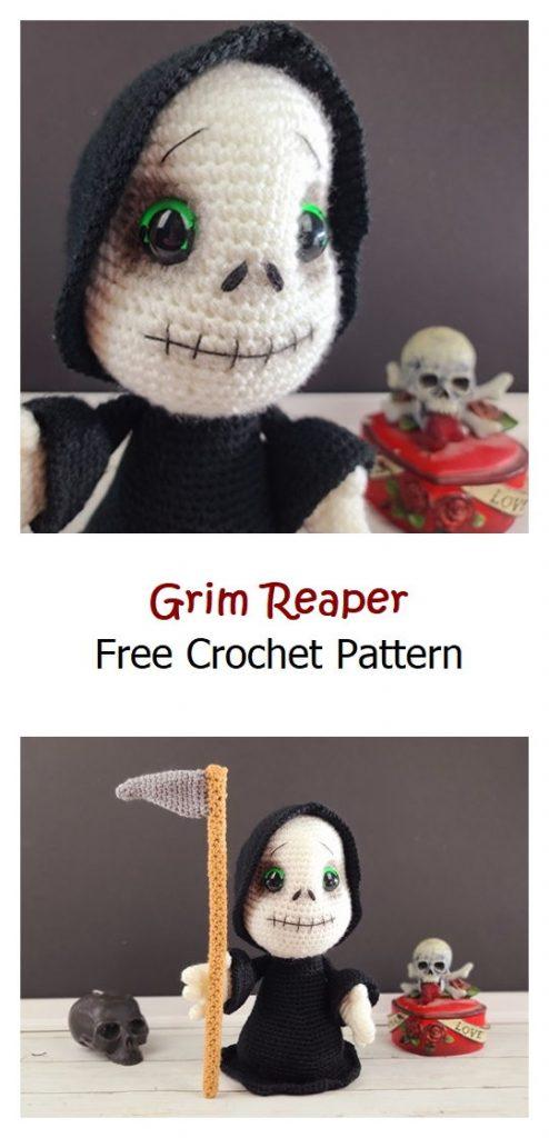 Grim Reaper Free Amigurumi Pattern